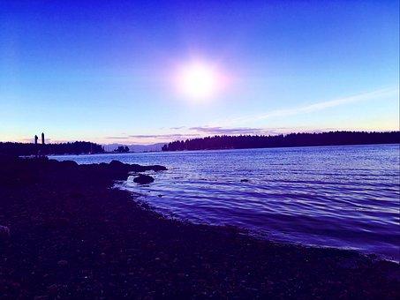 Canada, Summer, Ocean, Nature, Water, Landscape, Scenic