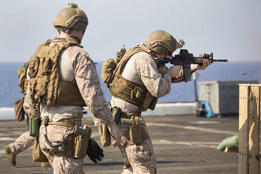 Marines, 24th Marine Expeditionary Unit, Deck Shoot