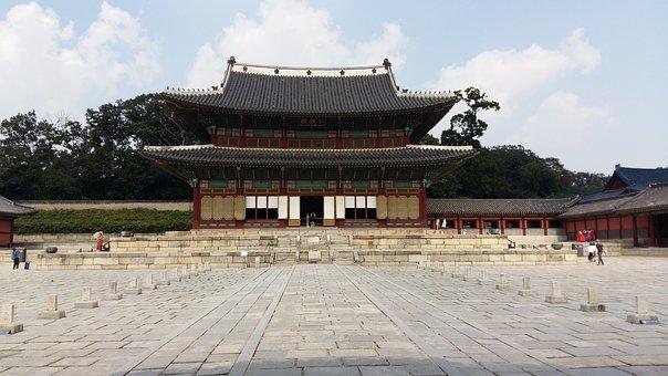 Forbidden City, Changdeokgung, Old School, Moon