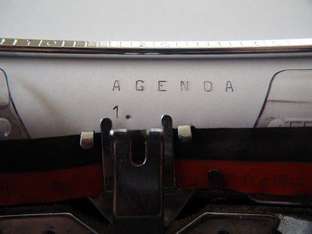 Agenda, Typewriter, Leave, Old, Office, Retro, Tap