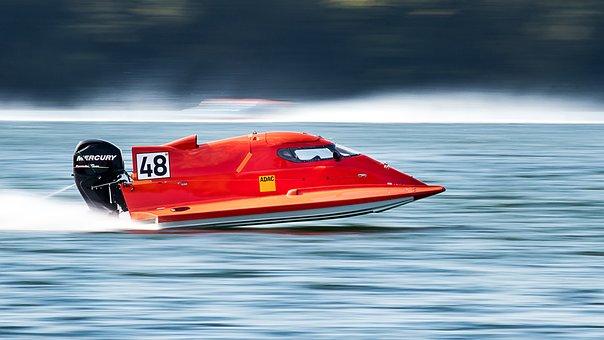 Powerboat, Speed, Speedboat, Fast, Racing Boat