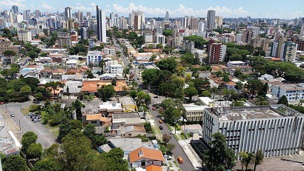 Curitiba, Center, Horizon, Quality, Green, Life