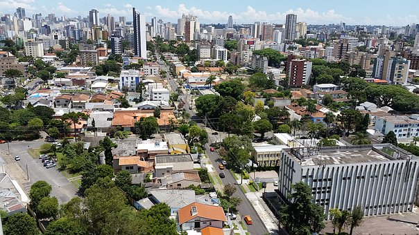 Curitiba, Center, Horizon, Quality, Green, Life