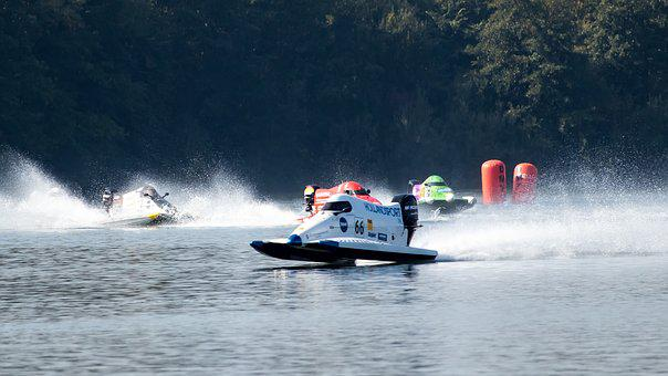 Powerboat, Motorboat Race, Race, Water Sports, Sport