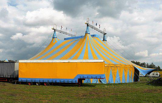Recreation, Circus, Circus Tent, Structure, Free Time
