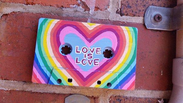 Urban, Art, Design, Love, Cassette, Recycled