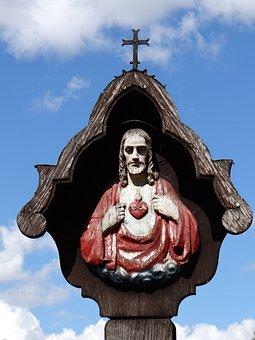 Sventa Sticky, Christ, Chapel, Poland, Cross, Religion