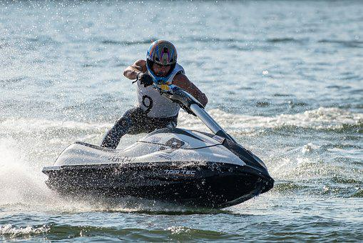Jet Boat, Jet Ski, Runabout, Water Sports