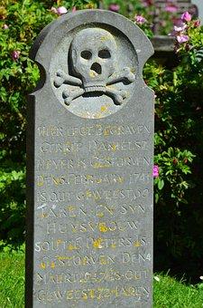 Borkum, Cemetery, Tombstone, Whalers Cemetery, Stone