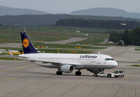 Aircraft, Lufthansa, Airport, Fly, Air Traffic