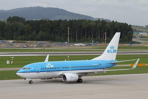 Aircraft, Klm, Zrh, Airport, Passenger Aircraft, Zurich