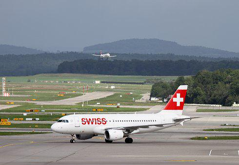 Aircraft, Swiss, Swiss Airlines, Aviation