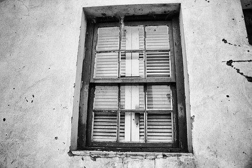 Window, Glass, Wall, Geometric Shapes, Architecture