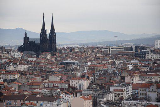 Clermont-ferrand, Cathedral, City, Auvergne