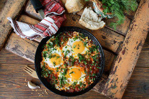 Georgian Eggs, Cerboli, Healthy Breakfast