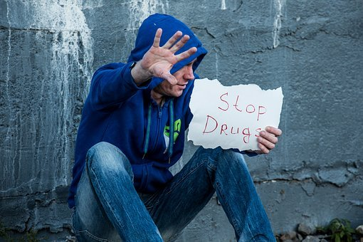 Stop, Drugs, Addict, Drug Addiction, Drug Dependence