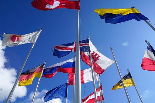 Flag, Europe, Switzerland, Eu, European, International