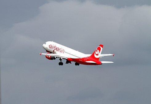 Aircraft, Airberlin, Aviation, Passenger Aircraft, Fly