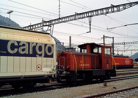 Transport, Train, Freight, Freight Train, Locomotive