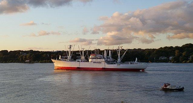 Frachtschiff, Museum, Hamburg, Cap San Diego