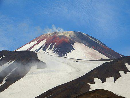 Volcano, Nipple, Mountain, Landscape, Nature, Height