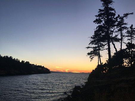 Sunset, Beach, Ocean, Water, Summer, Beach Sunset, Sky