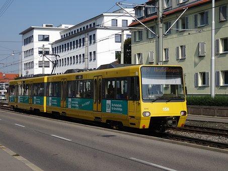 S Bahn, Tram, Ssb, Stuttgart, Rail Traffic