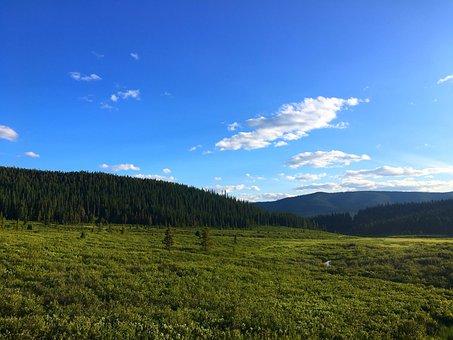 Sun, Mountains, Summer, Landscape, Nature, Sky, Outdoor