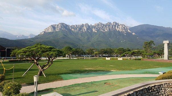 Gangwon Do, Sokcho, Ulsan When, Ulsan Rock, Rock