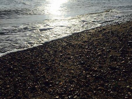 Essex, Southend, Evenings, Tide, Sunset