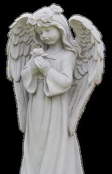 Angel, Wing, Statue, Guardian Angel, Female, Woman