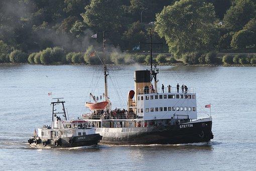 Icebreaker, Stettin, Steamboat, Captain, Tax Man