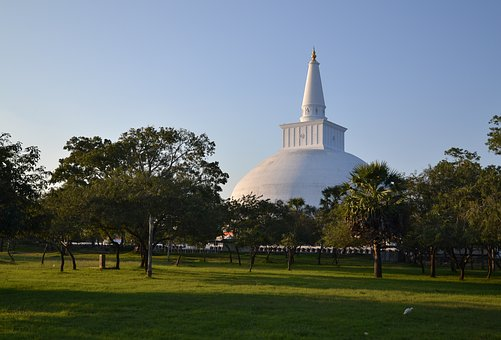 Sri Lanka, Anuradhapura, Temple, Buddhism