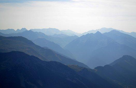 The Pyrenees, Mountains, Trek