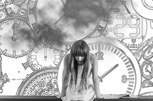 Girl, Time, Worried, The Clock Is Ticking, Concern