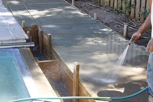 Wash Concrete, Washing Concrete, Concrete