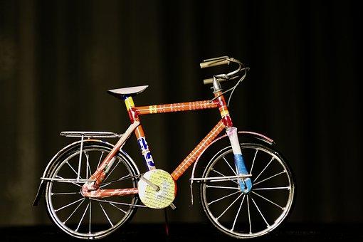Bike, Recycling, Can Sheet, Art