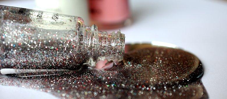 Lacquer, Silver, Rasato, Closeup, Manicure