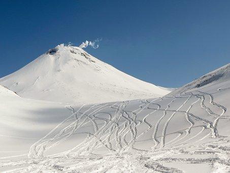 The Volcano Avachinsky, Kamchatka, Mountains, Nipple