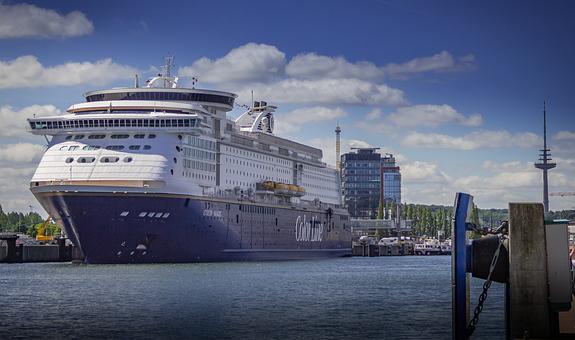 Colorline, Kiel, The Port Of Kiel, Ship, Water