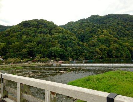 River, Landscape, Natural, Waterside, Comfort, Japan