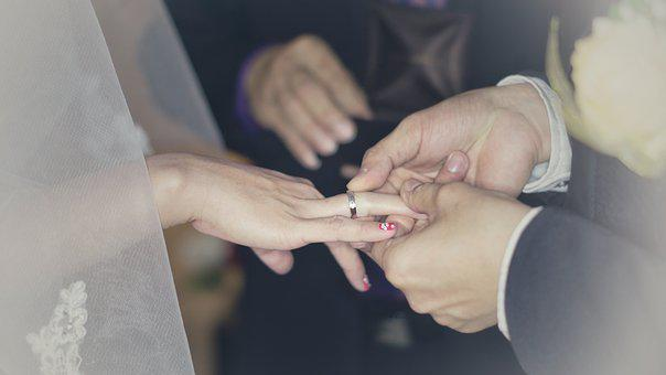 Wedding, Wedding Ring, Wedding Rings, Love, Marriage