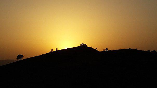 Kurdistan, Iraq, Sunset, Mountain, Nature, Ride