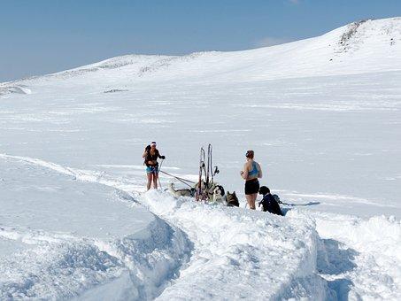 Winter, Spring, Ski Trip, Camping, Tan, Girls, Nature