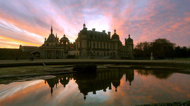 Chantilly, France, Renaissance, Old, Palace, Museum