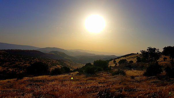 Kurdistan, Iraq, Sun, Mountain, Nature, Ride, Landscape