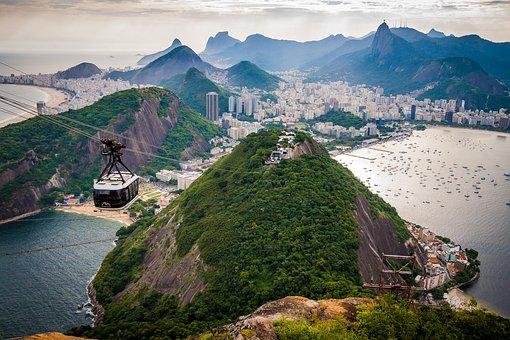 Rio De Janeiro, Brazil, South America, Sugarloaf, South