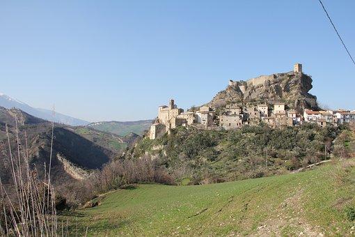 Castle, Roccascalegna, Medieval
