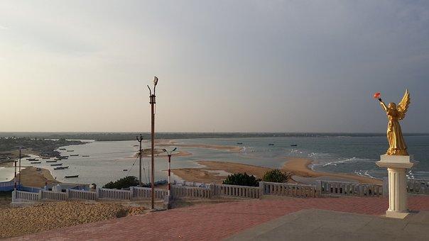 Manapadu Church, Tamil Nadu Tourism, Seaside Church