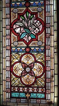Stained Glass Window, Church Window, Christian Art